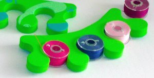 foam toe separators bobbins
