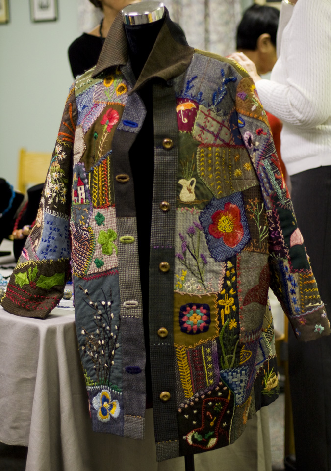 Pictures Of Gloria Drysdale S Crazy Quilt Coats And