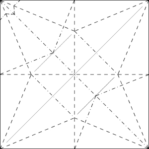 flapping-crane-crease-pattern