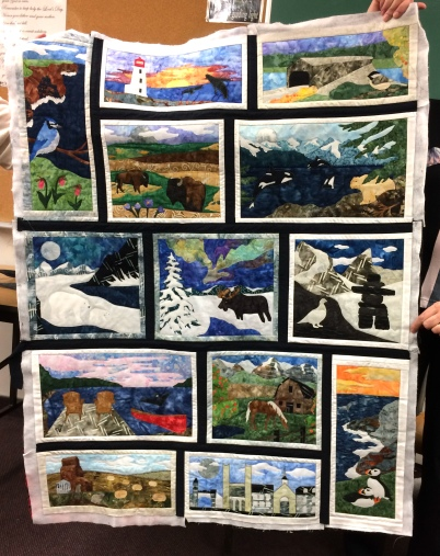 Norma's Canada 150 quilt