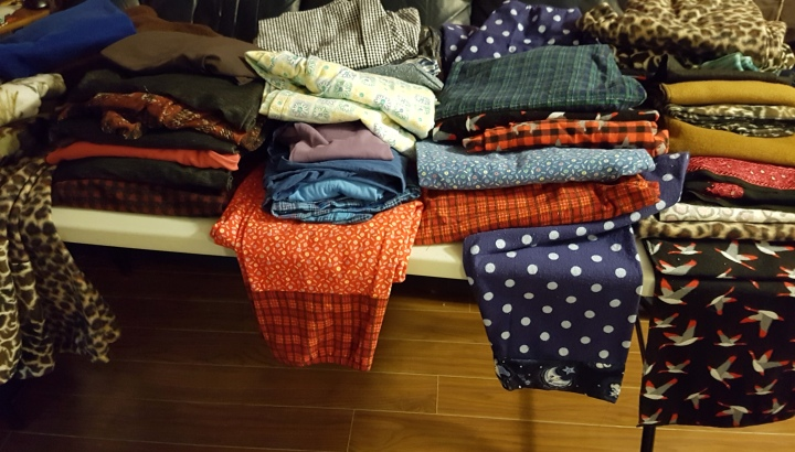 A Plethora of Pyjama Pants
